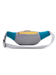 Portable Double Pocket Waist Bag