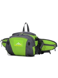 Large Space Hiking Basic Waist Bag and Backpack Use