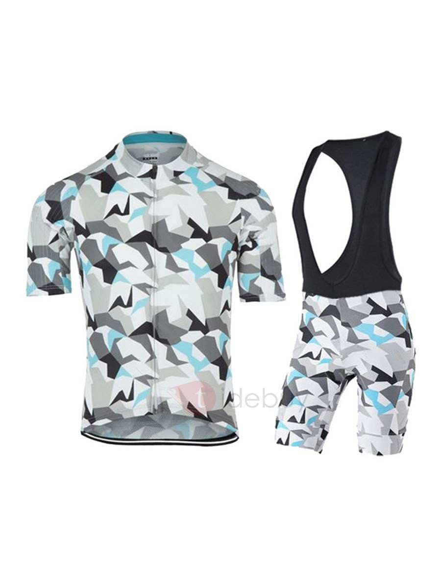 Nimble Colored Zip Bike Jersey & Bib Shorts