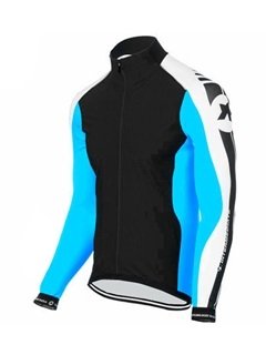 Colored Full-Zip Long Sleeve Bike Jersey