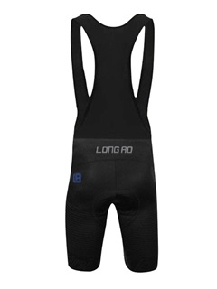 Polyester Navy Blue Men's Cycle Jersey And Bib Shorts