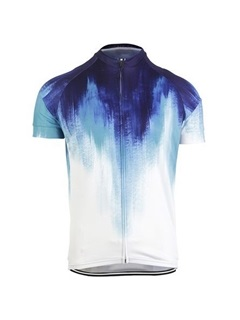 Polyester Moisture-Wicking Men's Bike Jersey