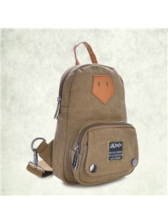 Small Size Canvas Chest Pack