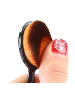 Toothbrush Shape Makeup Oval Brush