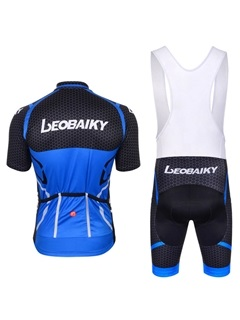 Body-hugging Fit Breathable Short Bike Jersey And Bib Tights