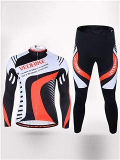 Ventilate Quick Drying Long Sleeve Men Cycling Suit