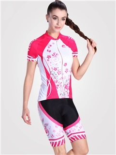 Lycra Breathable Dynamic Stretchy Women Cycling Suit