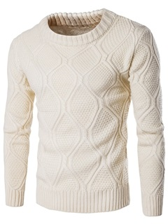 Vogue Pattern Causal Men's Thicken Sweater 27