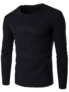 Vogue Pattern Causal Men's Thicken Sweater
