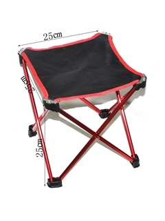 Nylon Aluminum Collapsible Portable Outdoor Fishing Chair