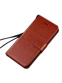 Leather Crashproof FlIP Cover Phone Case for iPhone 5/5s/SE/6/6S/6Plus/6sPlus/7/7Plus