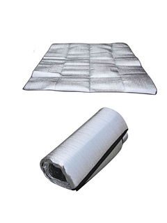PVC Aluminum Double Sided Waterproof 2*2m Picnic Pad Outdoor Mat