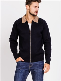 Zipper Fleece Causal Men's Jacket
