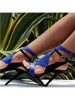 Sexy Royal Blue Sandals