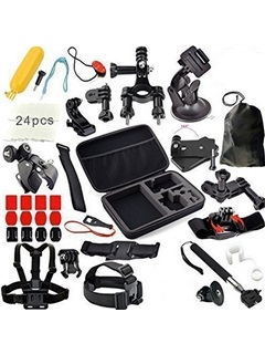 Practical 49in1 Sports Photography Set Kit Tools for GOPRO Camera Tripod