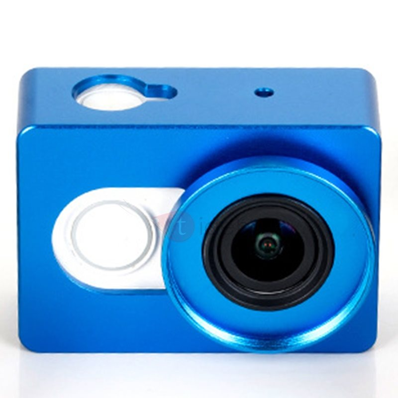 Aluminum Metal Alloy Housing Shockproof Case Frame Shell Lens Cover Mount for Xiaomi Yi Sport Action Camera