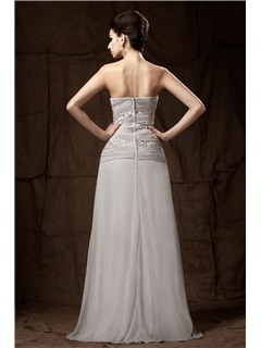 A-Line Lace Pleats Sweetheart Neckline Floor-length Mother of the Bride Dress With Jacket/Shawl