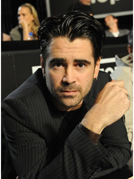 Tailored High Quality Sexy Colin Farrell Hairstyle Short Straight Lace Wig 100 Human Hair 6inches