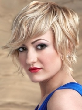 Custom Top Quality 100 Human Hair Natural Wave Short Wigs About 10 Inches