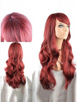 Latest Trend Elegant Glamorous Long Wavy Wig About 20 Inches