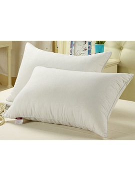 Exquisite White 100 Fibre Bed Pillow