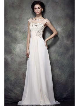 Charming Lace Sequins A Line Jewel Neckline Floor Length Polinas Mother Of Bride Dress