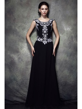 Fabulous A Line Scoop Floor Length Polinas Mother Of The Bride Dress