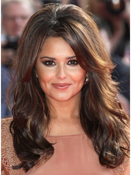 Celebrity Hairstyle Wavy Lace Front Wig 100 Human Hair About 18 Inches