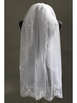 Delicate Fingertip Wedding Veil