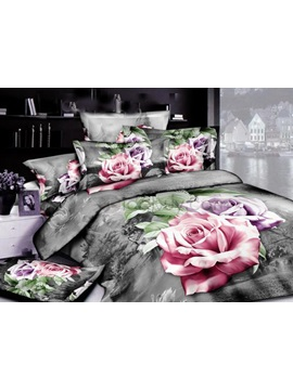 2013 New S Modern Style With High Quality 4 Pieces Bedding Sets