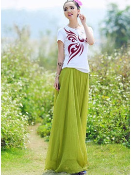 Gorgeous Korean Style Chiffon Skirt