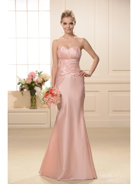 Exquisite Mermaid Sweetheart Neckline Floor Length Bridesmaid Dress