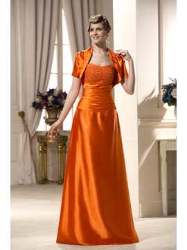 Enchanting A Line Sweetheart Floor Length Mother Of The Bride Dress