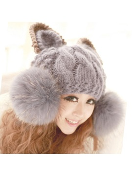 Remarkable New Knit Woolen Yarn Hat