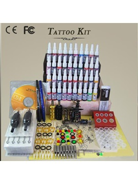 Starter Tattoo Kit Complete Set With 1 Tattoo Machine 40 Color Inks