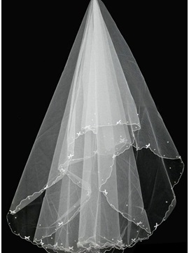 Stunning Pearl 15 Meters Wedding Veil