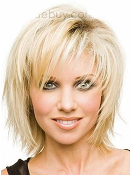 Divine Short Straight Hairstyle 100 Remy Human Hair Monofilament Top Wig 10 Inches