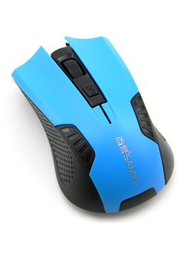 Usb Wireless Energy Saving 1200 Dpi 24g Optical Gaming Mouse For Pc Laptop