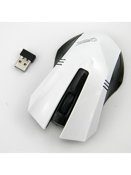 Usb Wireless 1200 Dpi 24g Optical Gaming Mouse For Pc Laptop