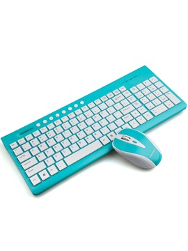 Usb Wireless Keyborad And Mouse Set 1200dpi