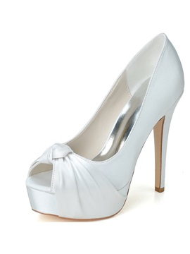 Trendyable Stain Stiletto Heel Wedding Shoes
