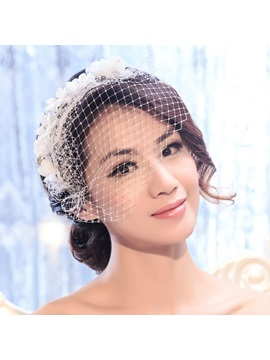 Beaded Ivory Bridal Hair Accessories