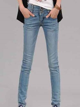 New Medium Waist Skinny Jeans