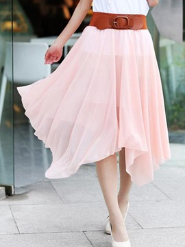 New Chiffon Bohemia Womens Plus Size Skirt