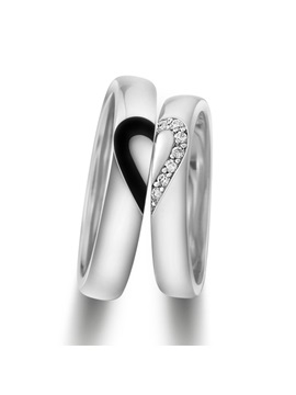 Match Heart 925 Sterling Silver Lovers Rings Price For A Pair
