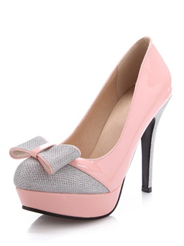 Cute Bowtie Stiletto Pumps