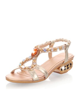 New Bohemia With Crystal Womens Sandals