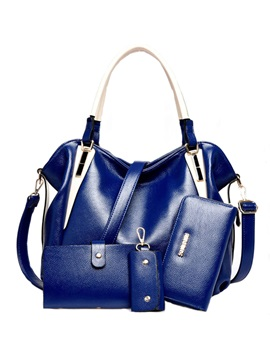 Soft Pu Womens Bag Set