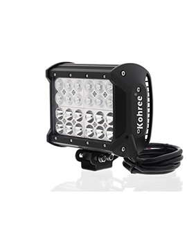 6572w Off Road Led Work Light Bar Flood Spot Combo Beam 6000 Lumen Great For Jeep Cabin Boat Suv Truck Car Atv