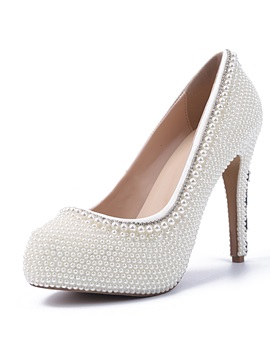 Chicpearl Evening Bridal Shoes